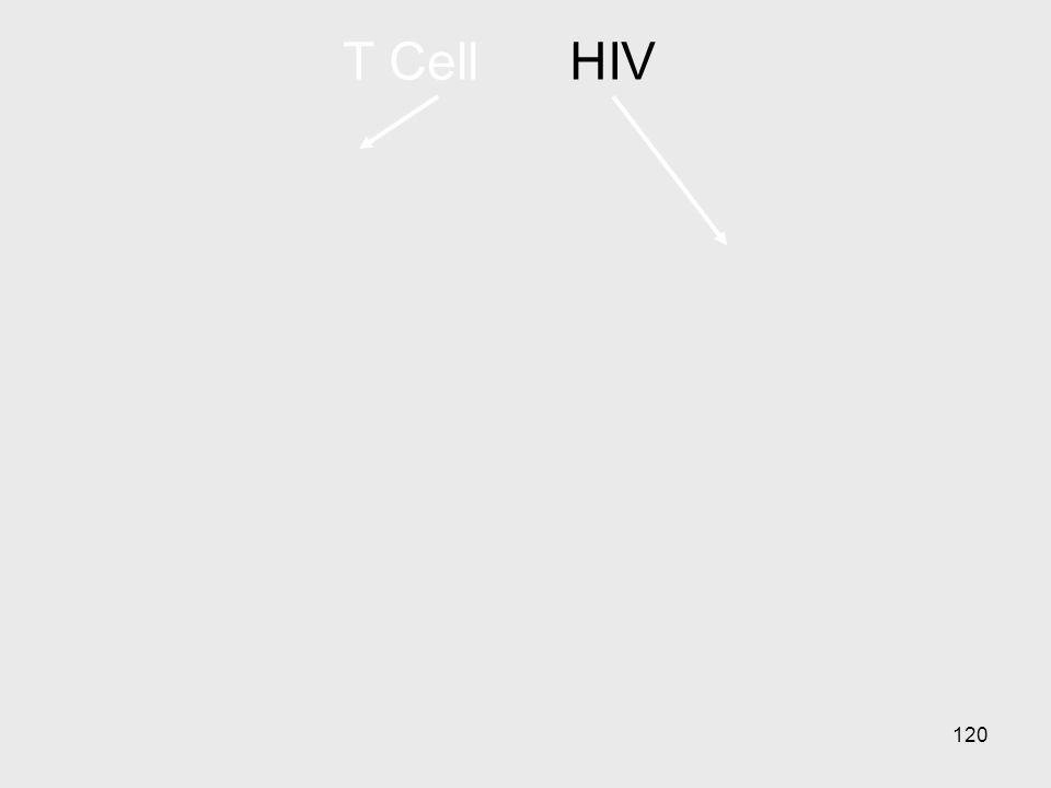 120 T CellHIV