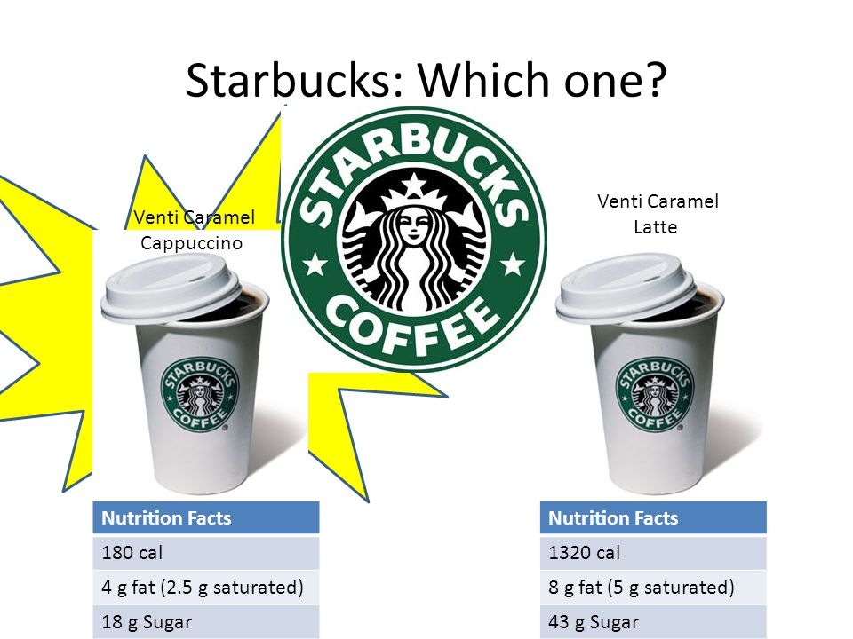 Starbucks: Which one.