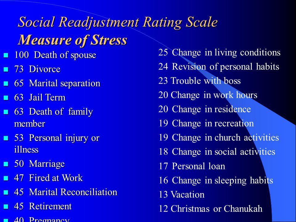 Illnesses exacerbated by stress l Cardiovascular disease l Diabetes l Asthma l Rheumatoid arthritis l Headaches l Infectious disease