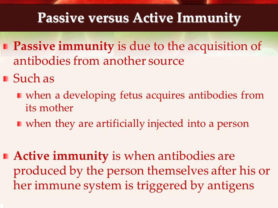 Immune System Vocab cont.