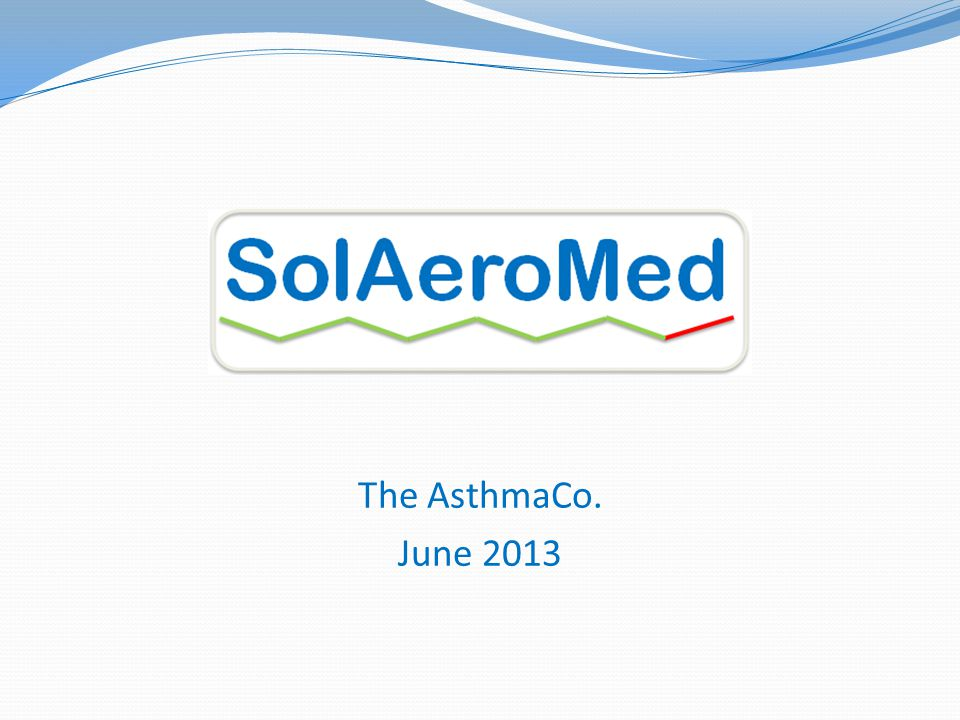 The AsthmaCo. June 2013