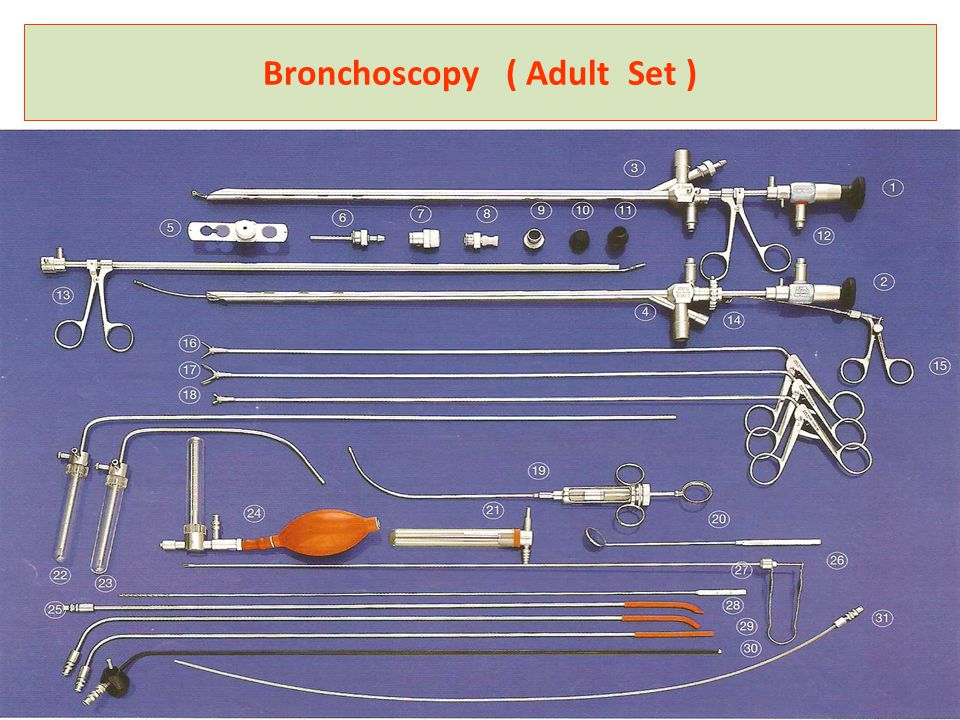 Bronchoscopy ( Adult Set )