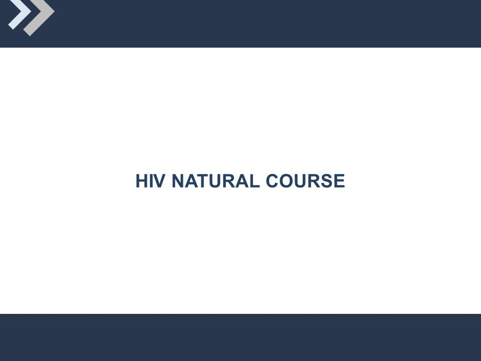 HIV NATURAL COURSE