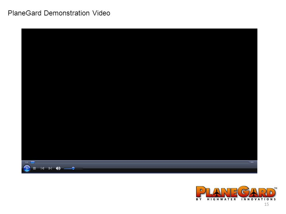 15 PlaneGard Demonstration Video