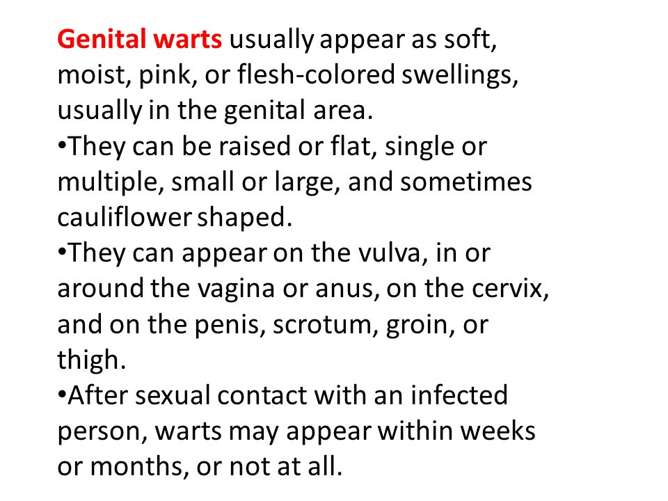 SIGNS AND SYMPTOMS CONTINUED You may remain symptom-free for eight or nine years or more.