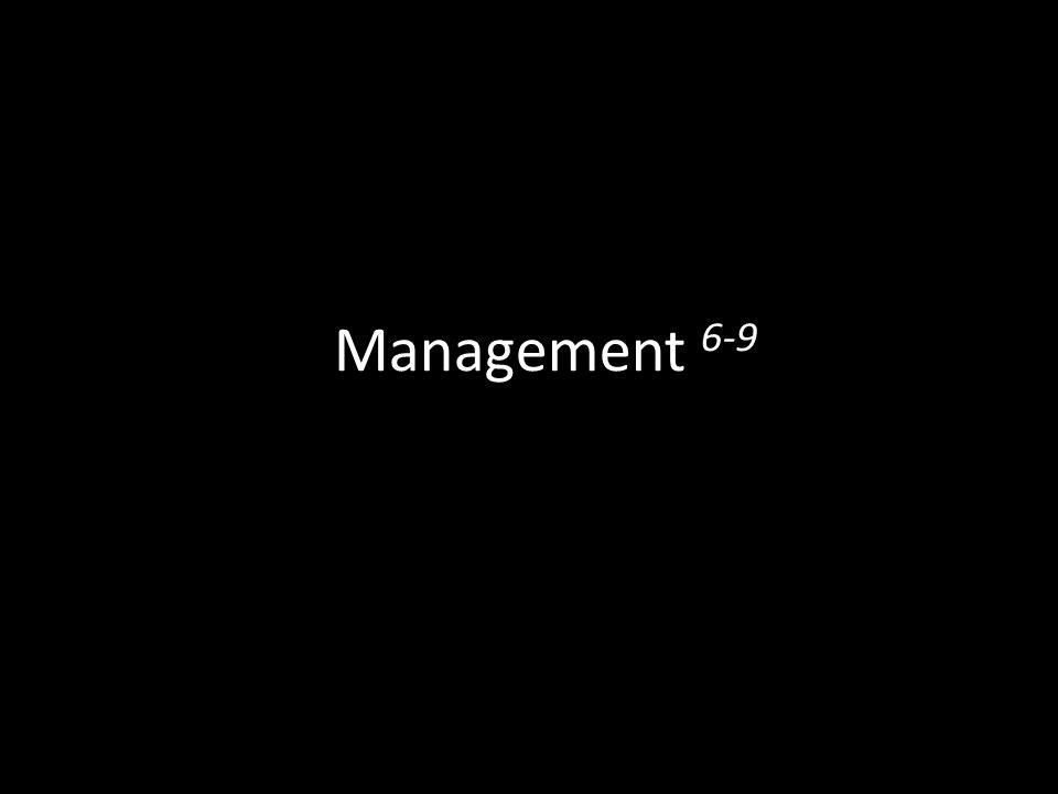 Management 6-9