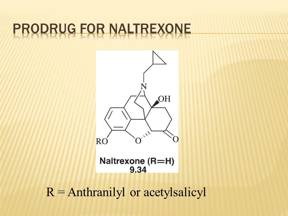 R = Anthranilyl or acetylsalicyl