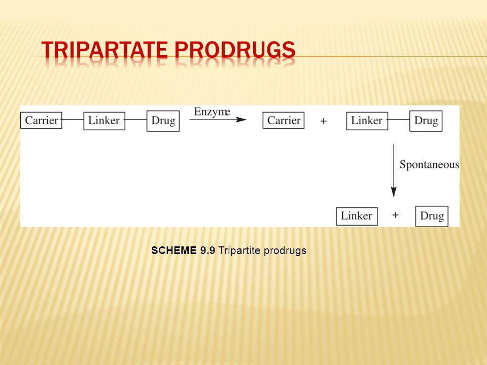 SCHEME 9.9 Tripartite prodrugs