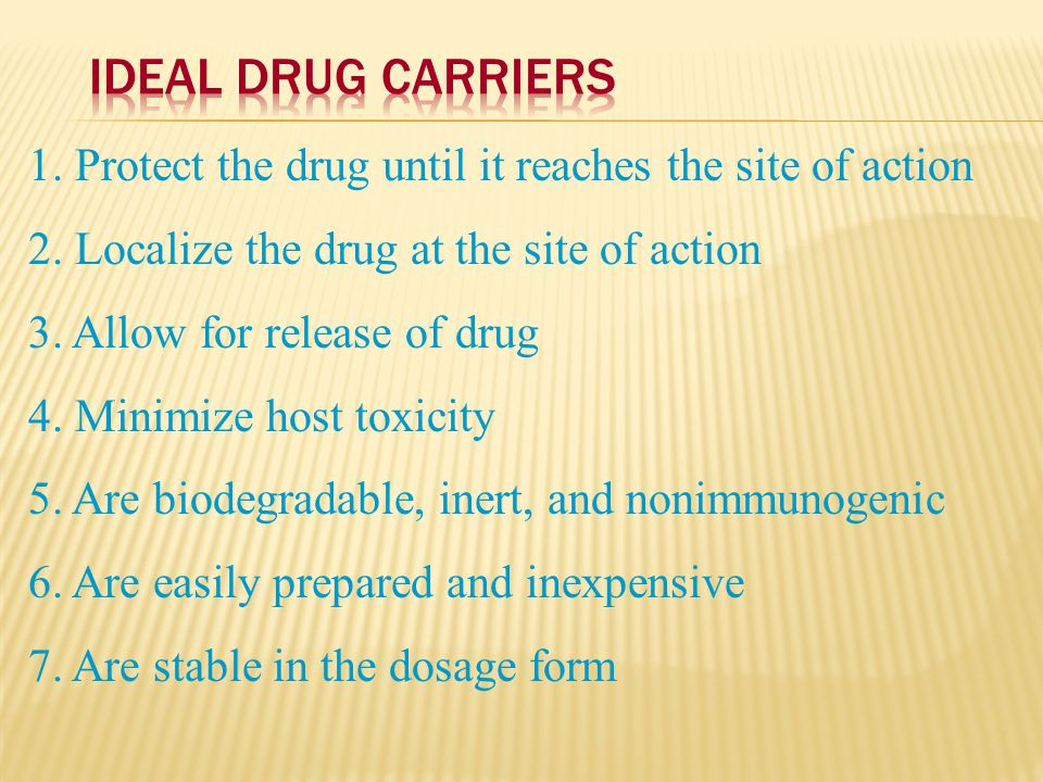 An approach for site-specific delivery of cancer drugs.