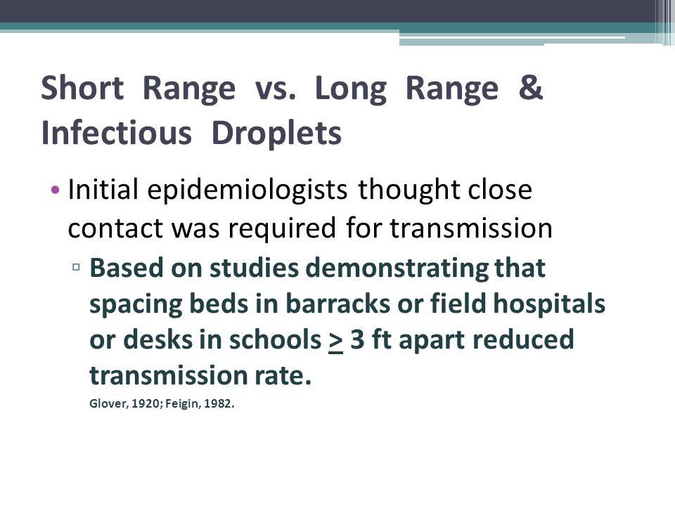 Short Range vs.