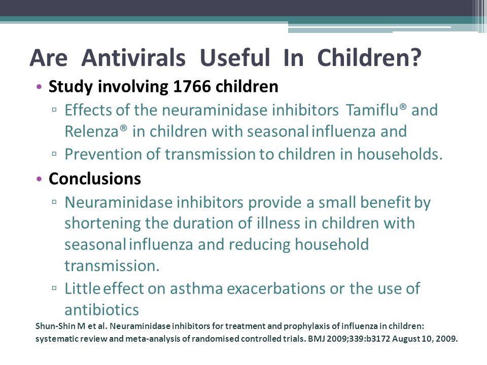 Are Antivirals Useful In Children.
