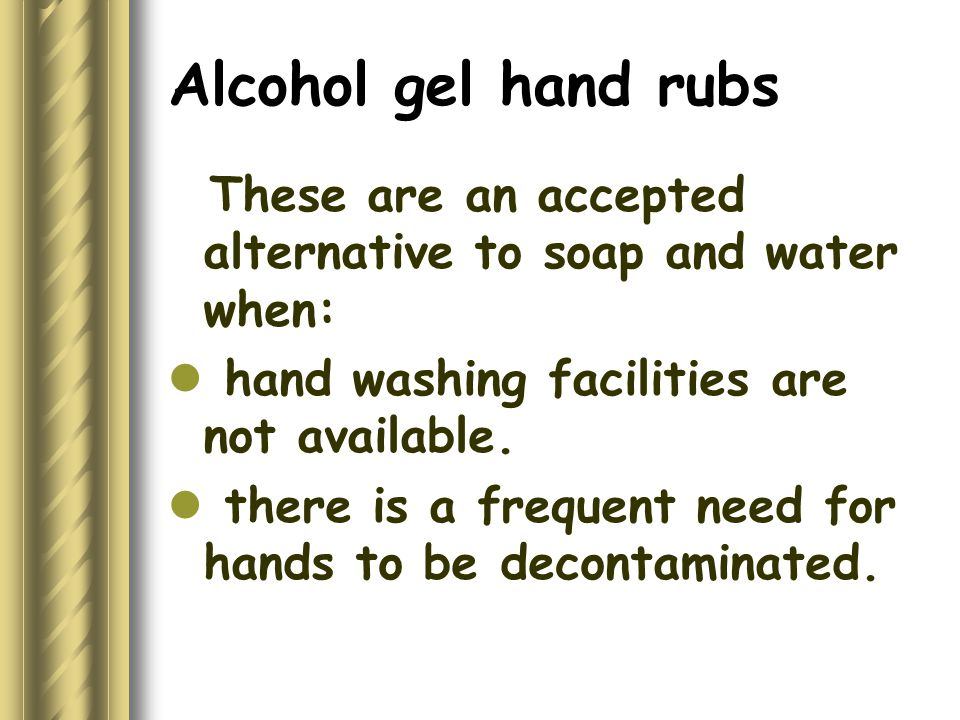 Policies of Using Gloves 1.Gloves must be worn by all staff prior to contact with blood & body fluids.