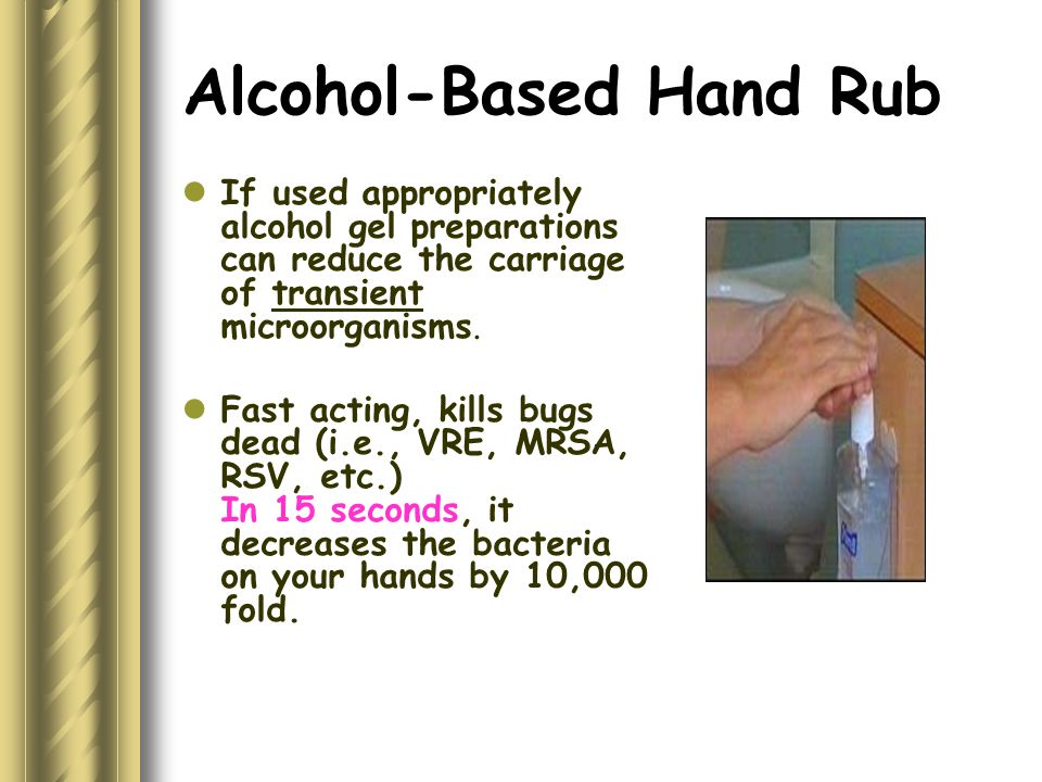 Gloves Use Between care activities and procedures on the same patient in which the health care worker deals with body fluids and secretions.