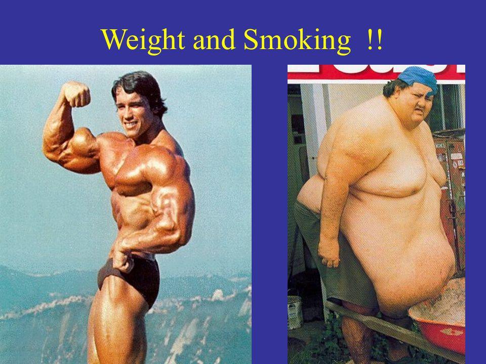 Weight and Smoking !!