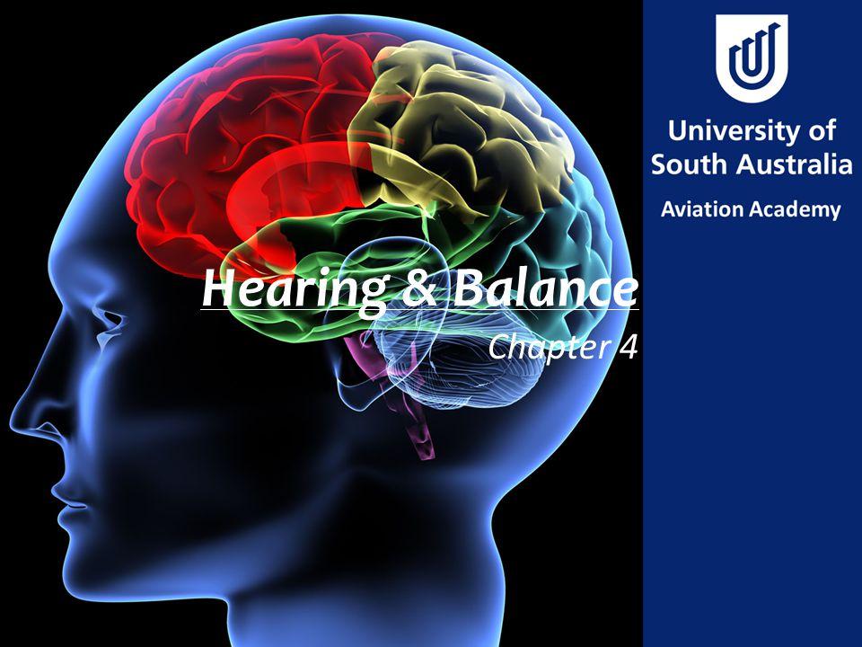 Hearing & Balance Chapter 4