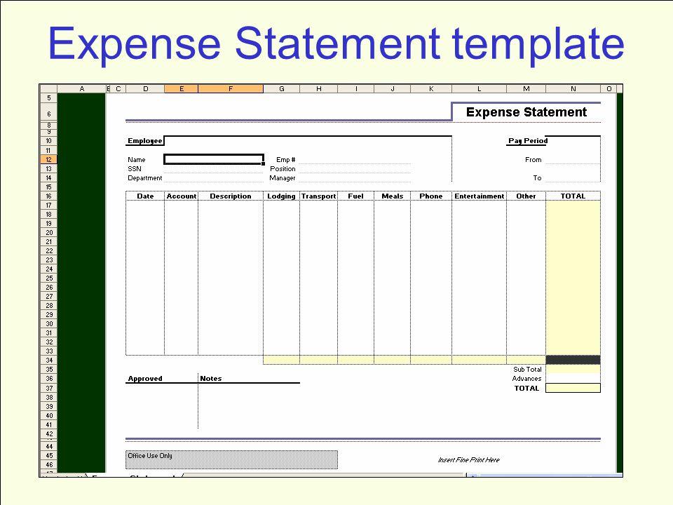 Balance Sheet Template