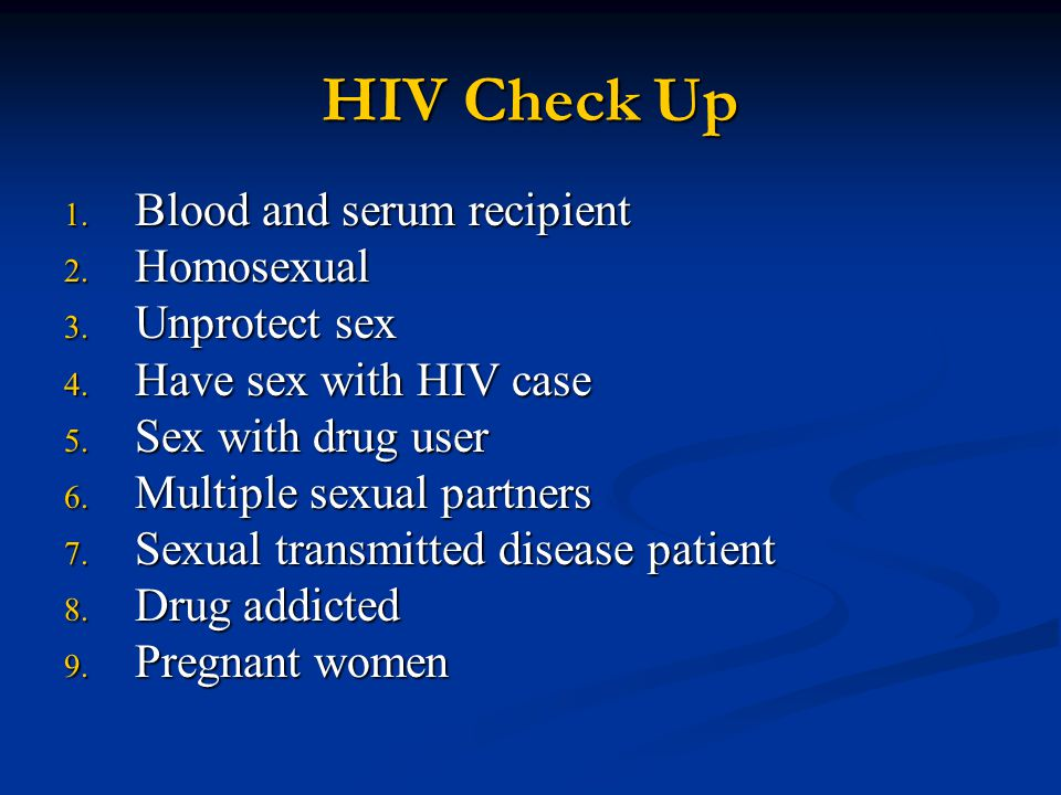 Diagnosis of HIV/AIDS Detection of anti-HIV antibody: Detection of anti-HIV antibody: 1.