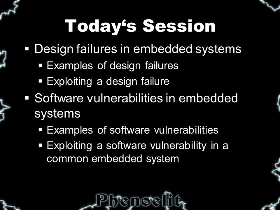 What's a Embedded System .