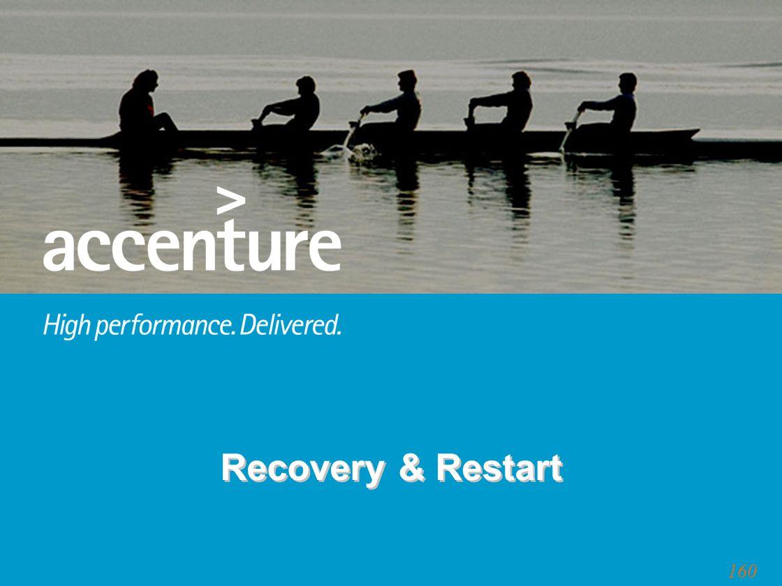 160 Recovery & Restart