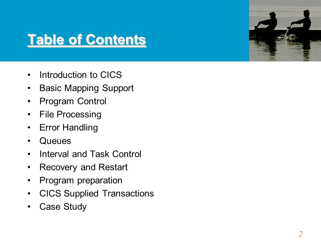 83 CICS VS FILE PROCESSING Instead, CICS has a list of all the files it is allowed To access.