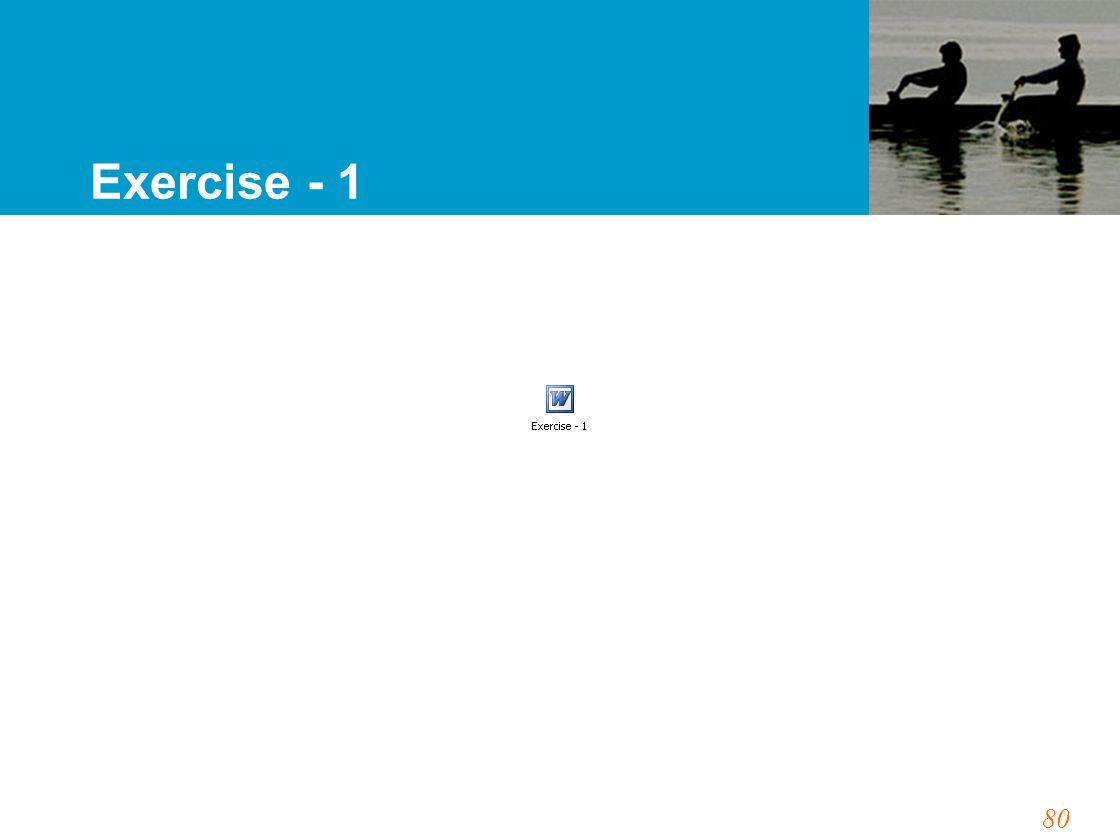 80 Exercise - 1