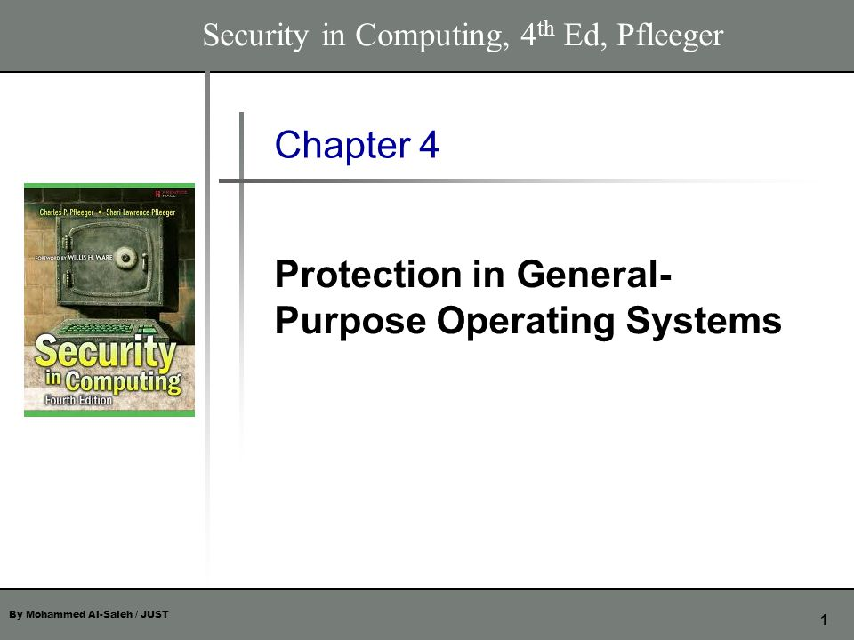 By Mohammed Al-Saleh / JUST 42 Chapter 4 The Authentication Process In more secure installations, stopping penetrators is more important than tolerating users mistakes After three successive password failures, the account for that user is disabled and only the security administrator can reenable it This action identifies accounts that may be the target of attacks by penetrators.