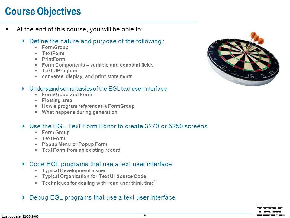 176 Last update: 12/05/2008 What Does the Customer List Program Look Like.