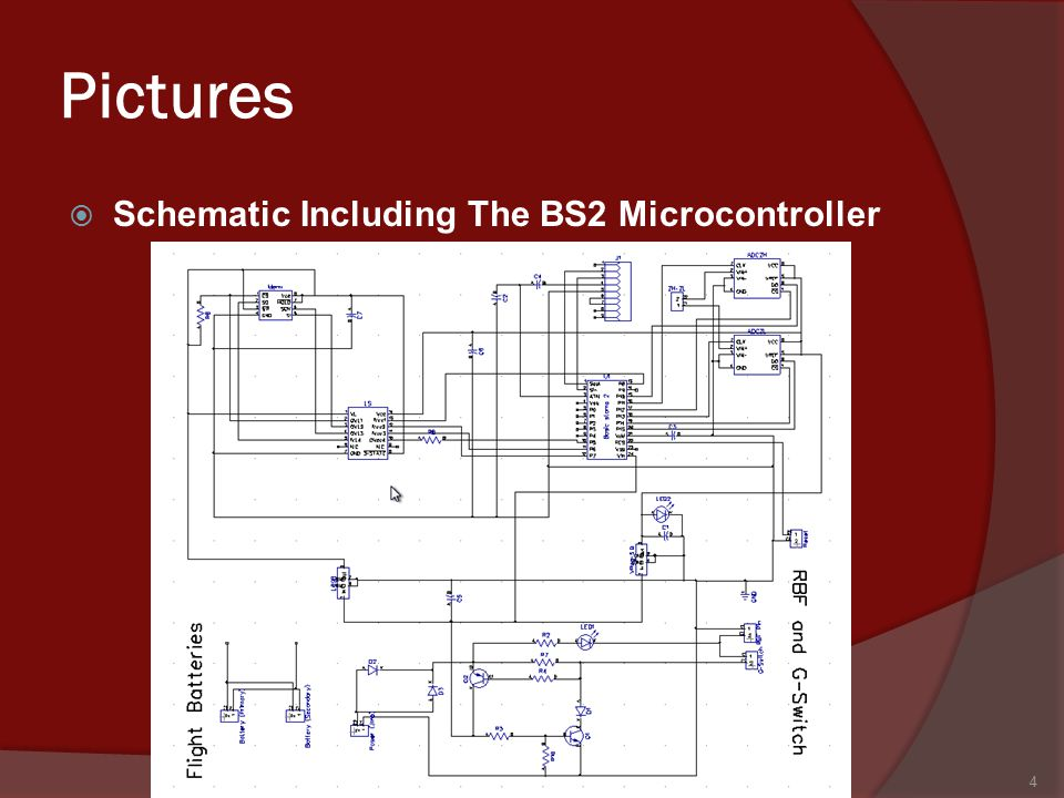 Pictures  Schematic Including The BS2 Microcontroller 4