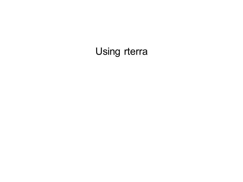 Using rterra