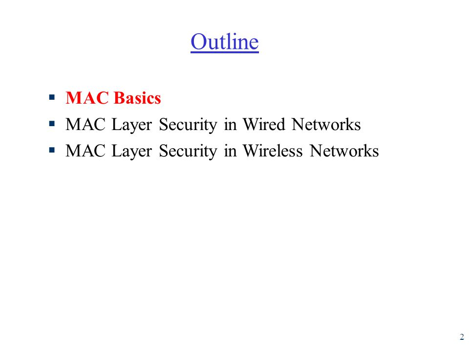 13 Summary of MAC protocols r What do you do with a shared media.