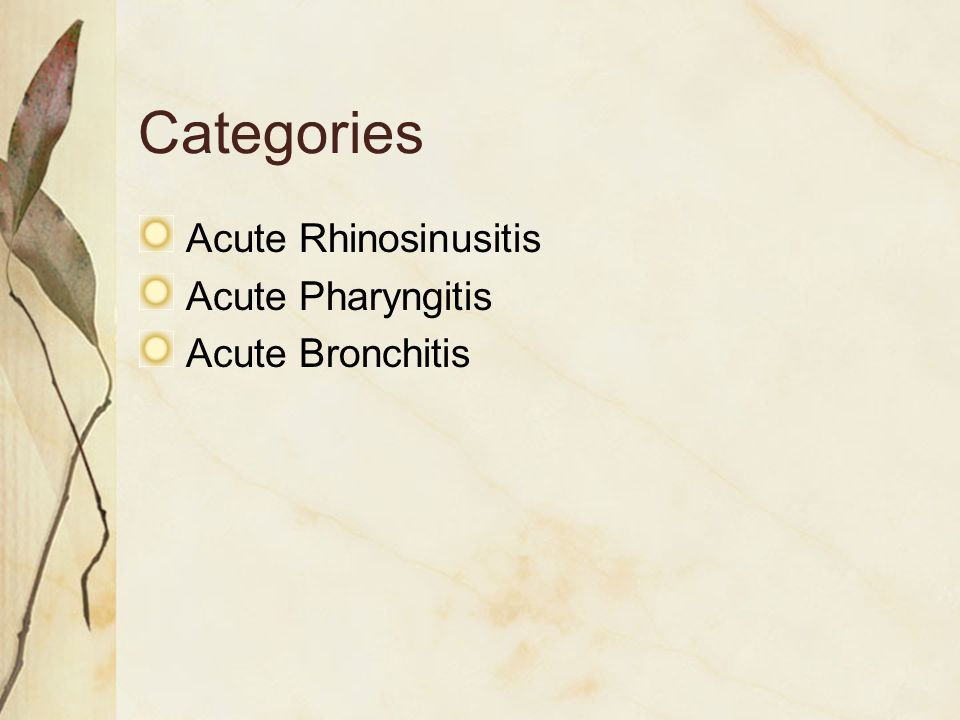 Acute Pharyngitis Fewer than 25% of patients with sore throat have true pharyngitis.