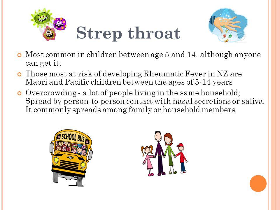 Do all sore throats lead to rheumatic fever.
