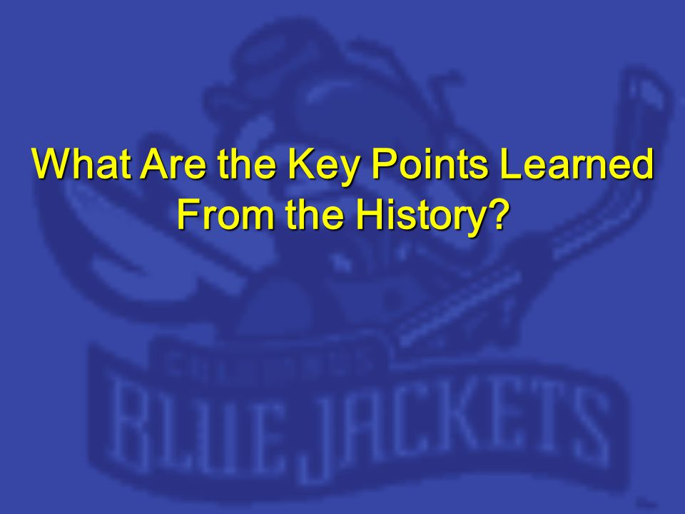 What Are the Key Points Learned From the History
