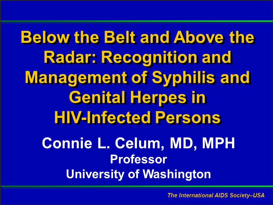 Slide #1 CL Celum, MD, MPH. Presented at RWCA Clinical Update, August 2006.