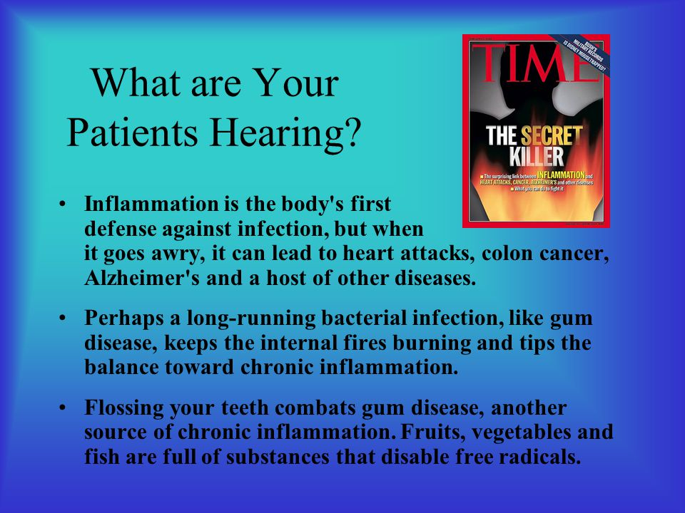 What are Your Patients Hearing.