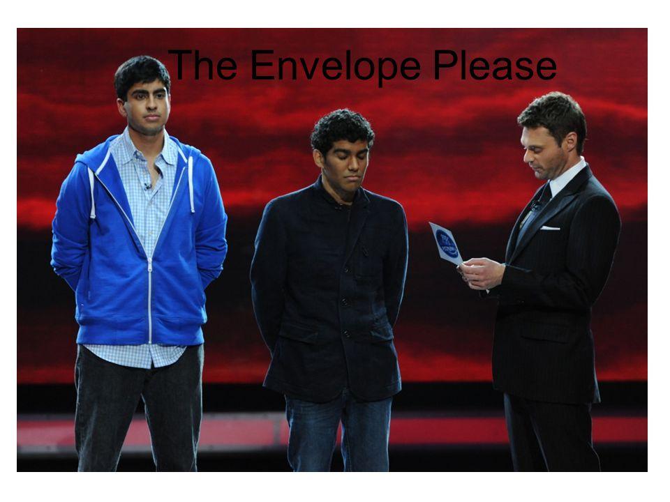 The Envelope Please