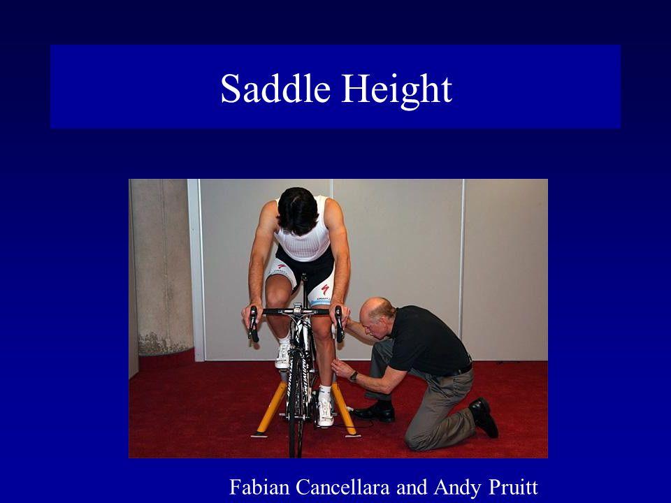 Saddle Height Fabian Cancellara and Andy Pruitt