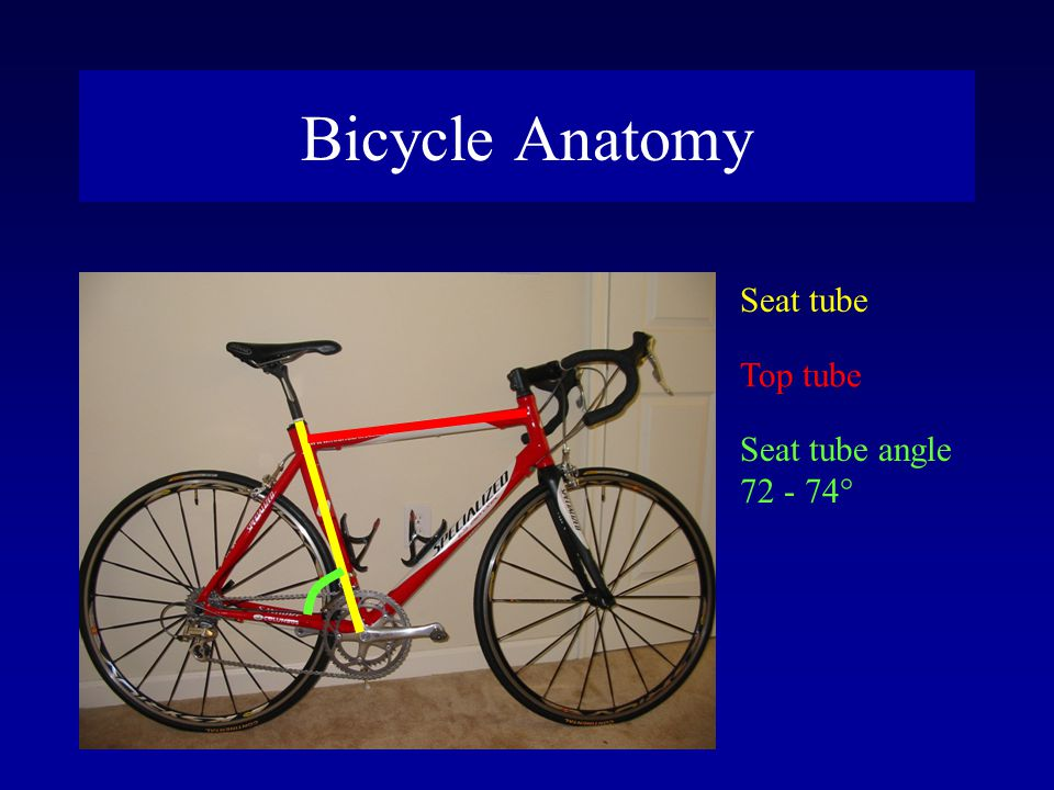 Knee Pain and Adjustment LocationCauseSolution AnteriorSaddle too lowRaise saddle Saddle too far forwardMove saddle back Cranks too longShorten cranks PosteriorSaddle too highLower saddle Saddle too far backMove forward MedialToes point outPoint in Feet too far apartMove closer Tight pedal tensionLower tension LateralToes point inPoint out Feet too closeMove apart Arnie Baker 1998 Bicycle Medicine