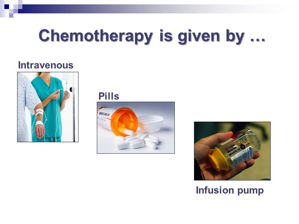 Safety precautions Keep chemotherapy out of reach of children It takes approximately 48 hours for your body to filter the chemo out During that time, your body fluids (urine, vomit or semen) carry small amounts of drug waste Exposure to this drug waste can irritate your skin and be harmful to others & pets Resource: Disposal of Waste at Home After Chemotherapy