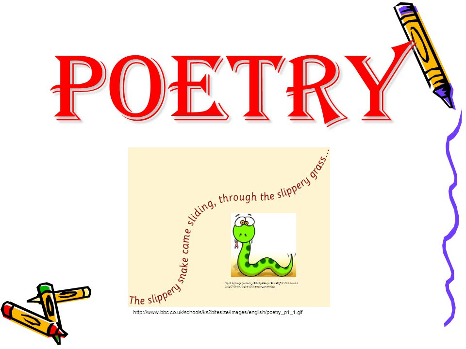Poetry Poetry is an imaginative awareness of experience expressed through meaning, sound, and rhythmic language choices so as to evoke an emotional response.