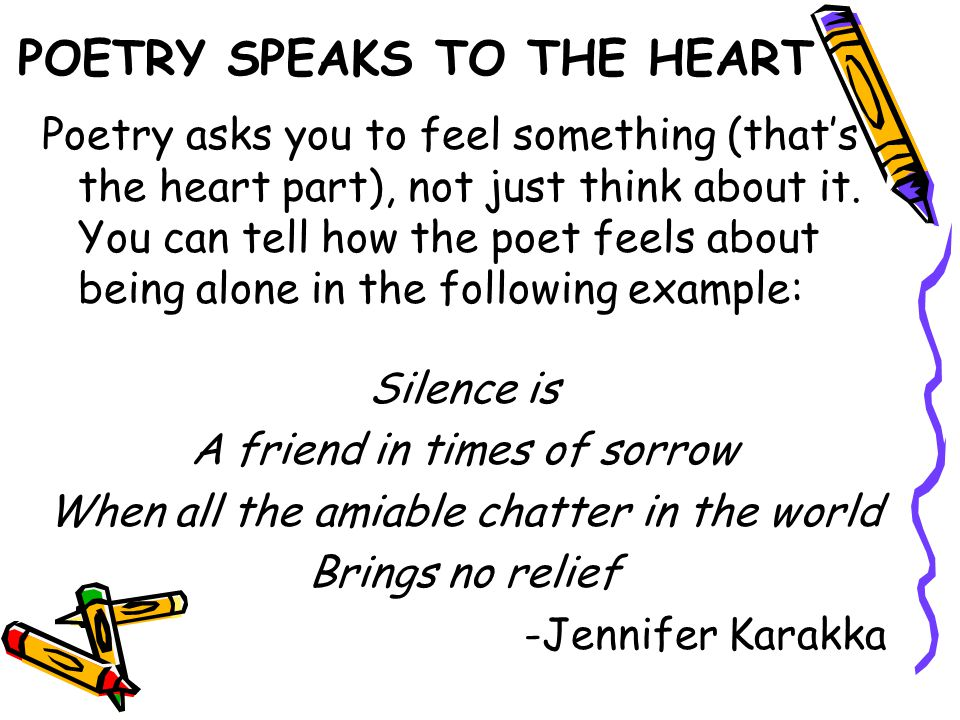SENSORY IMAGES Help the reader see, hear or feel things.