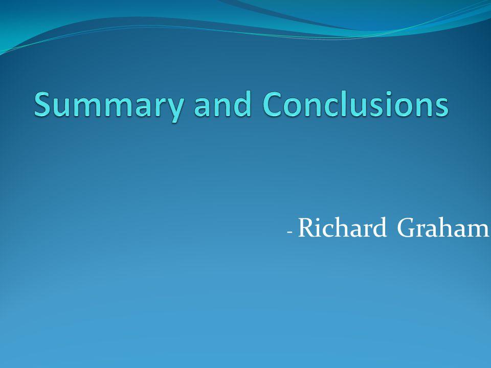 - Richard Graham
