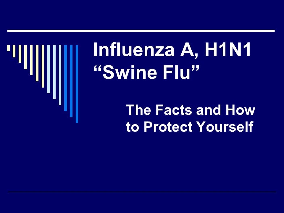 Influenza A, H1N1 Swine Flu The Facts and How to Protect Yourself