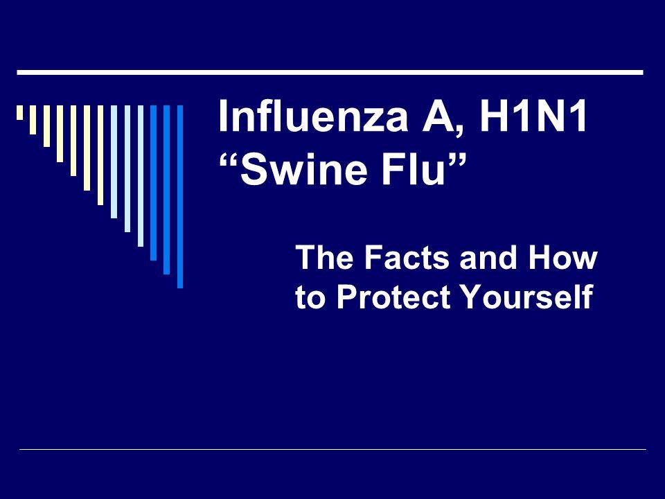 What is Influenza A, H1N1 Swine Flu.