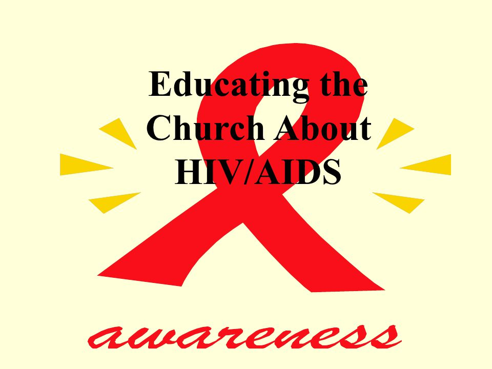 Educating the Church About HIV/AIDS