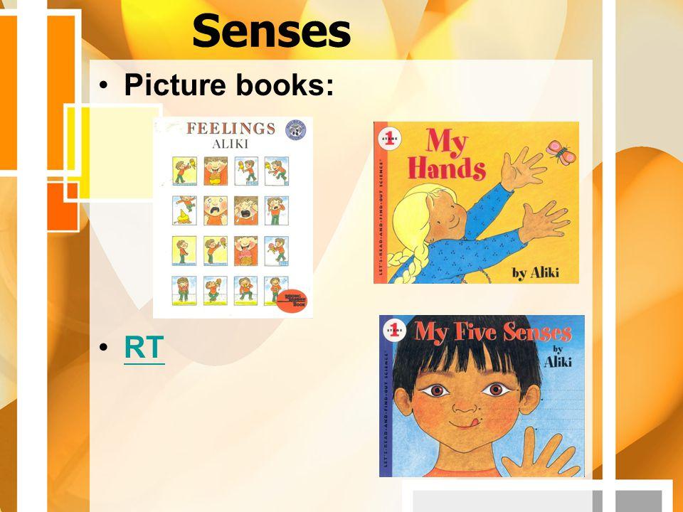 Senses Picture books: RT