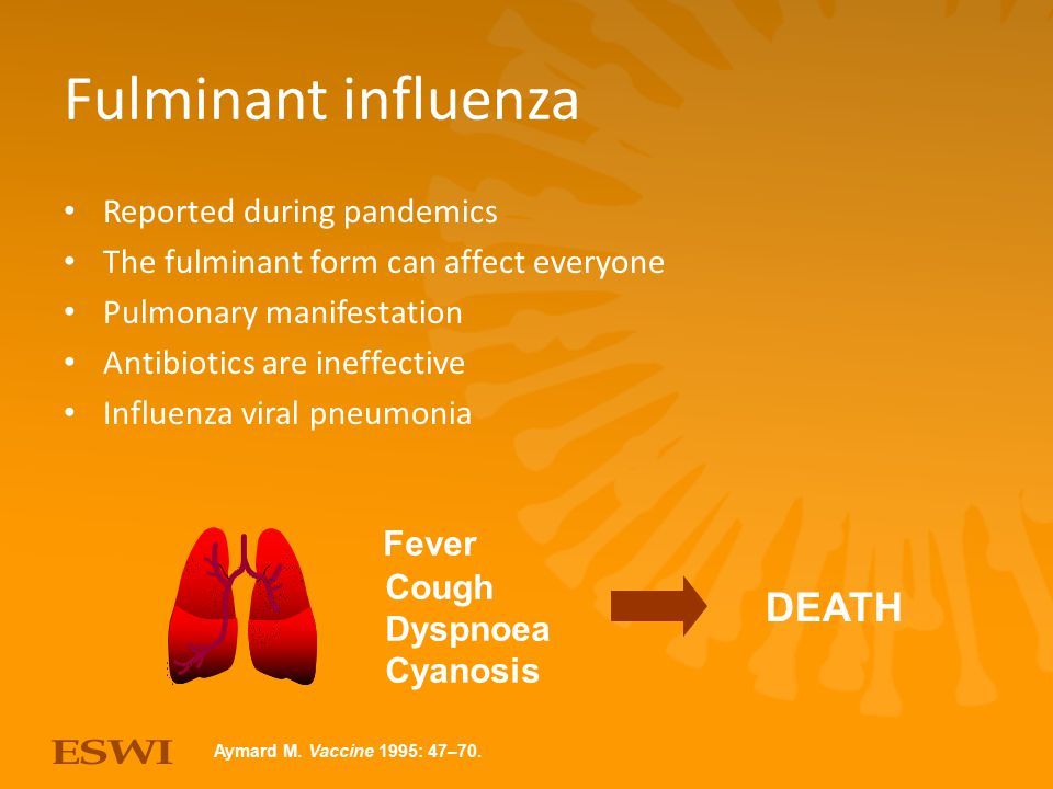By courtesy of APACI Asia-Pacific Advisory Committee on influenza www.apaci-flu.com