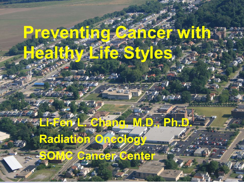 Preventing Cancer with Healthy Life Styles Li-Fen L.