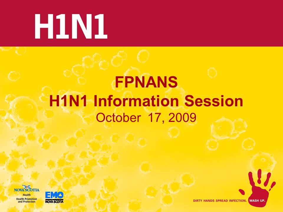 FPNANS H1N1 Information Session October 17, 2009