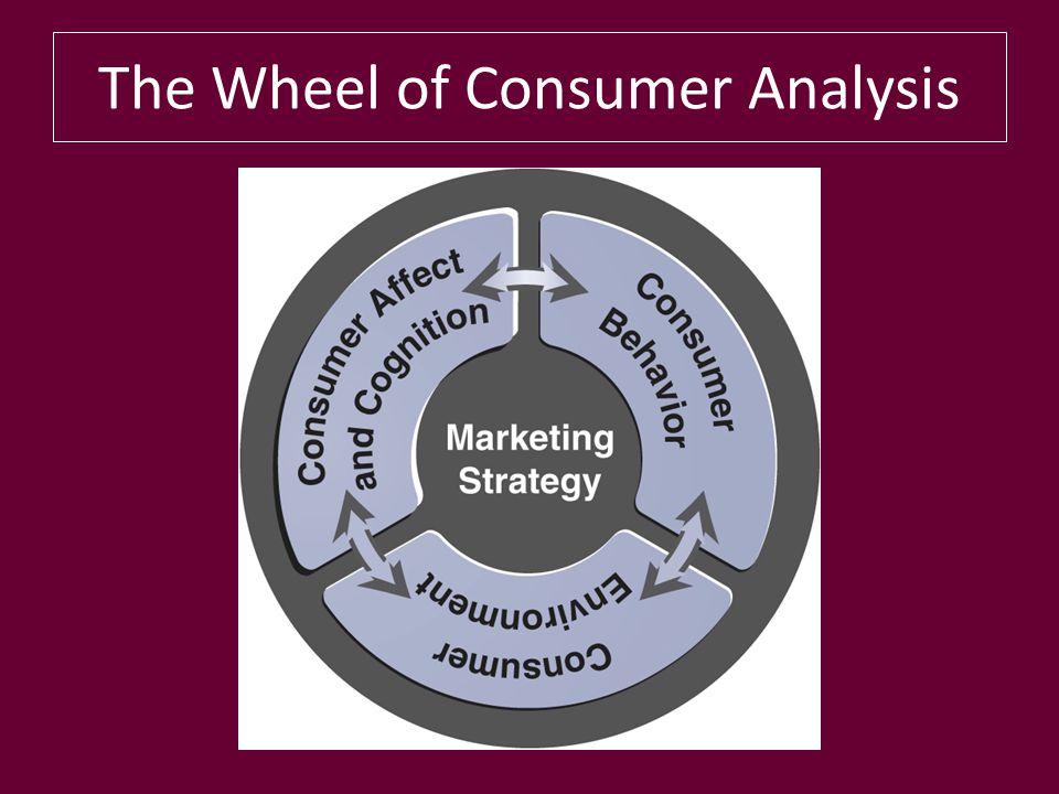 The Wheel of Consumer Analysis